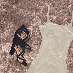 kim K inspired bodycon dress. ✨